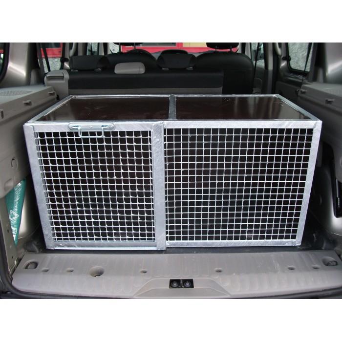 Cage de transport pour chiens 90 x 50 x 50 cm
