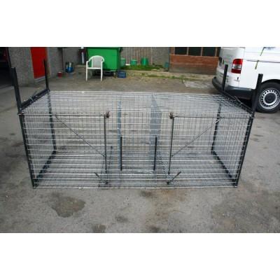 Cage piège à renard 2 entrées.