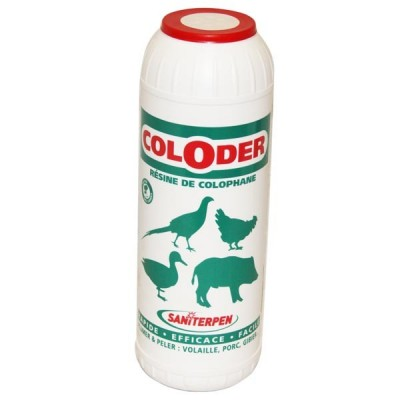 Coloder, résine de colophane