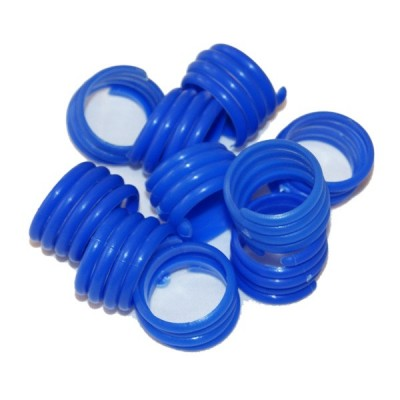 Bagues en spirales par 10, Canard diamètre 18mm