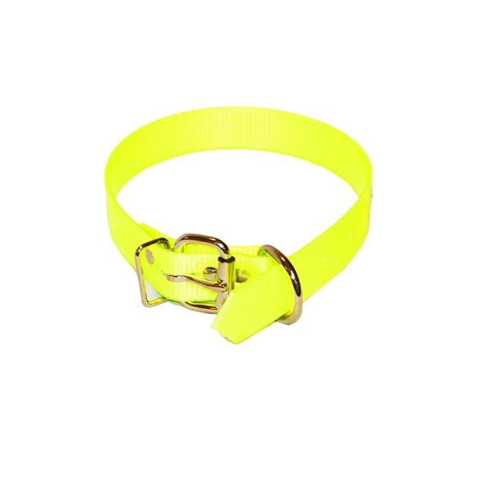 Collier fluorescent pour chien de chasse 54cm.