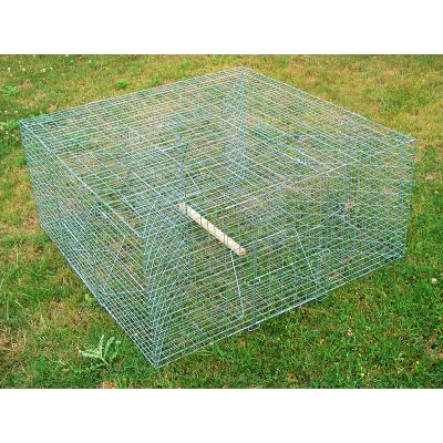 Nasse à corbeaux carrée 100x100x50