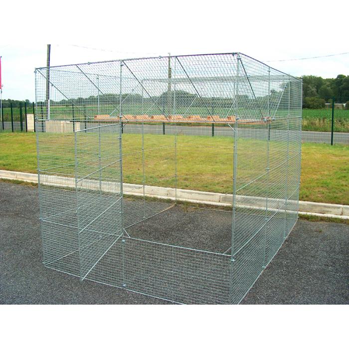 Cage à corbeaux en kit - piège à corbeaux multiprise