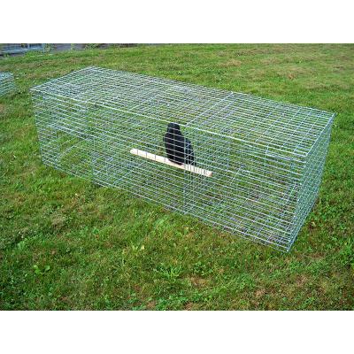 Nasse à corbeaux rectangulaire 150x50x50
